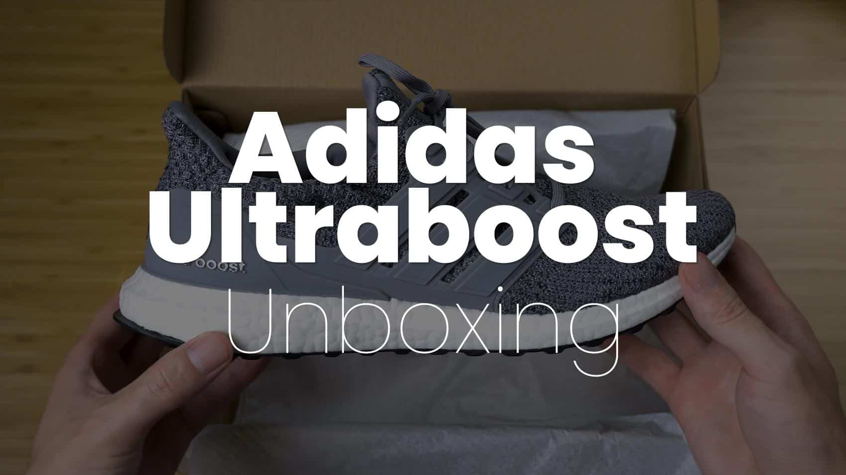 adidas ultraboost grey three unboxing