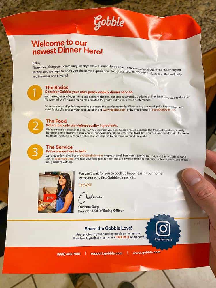 gobble overview brochure