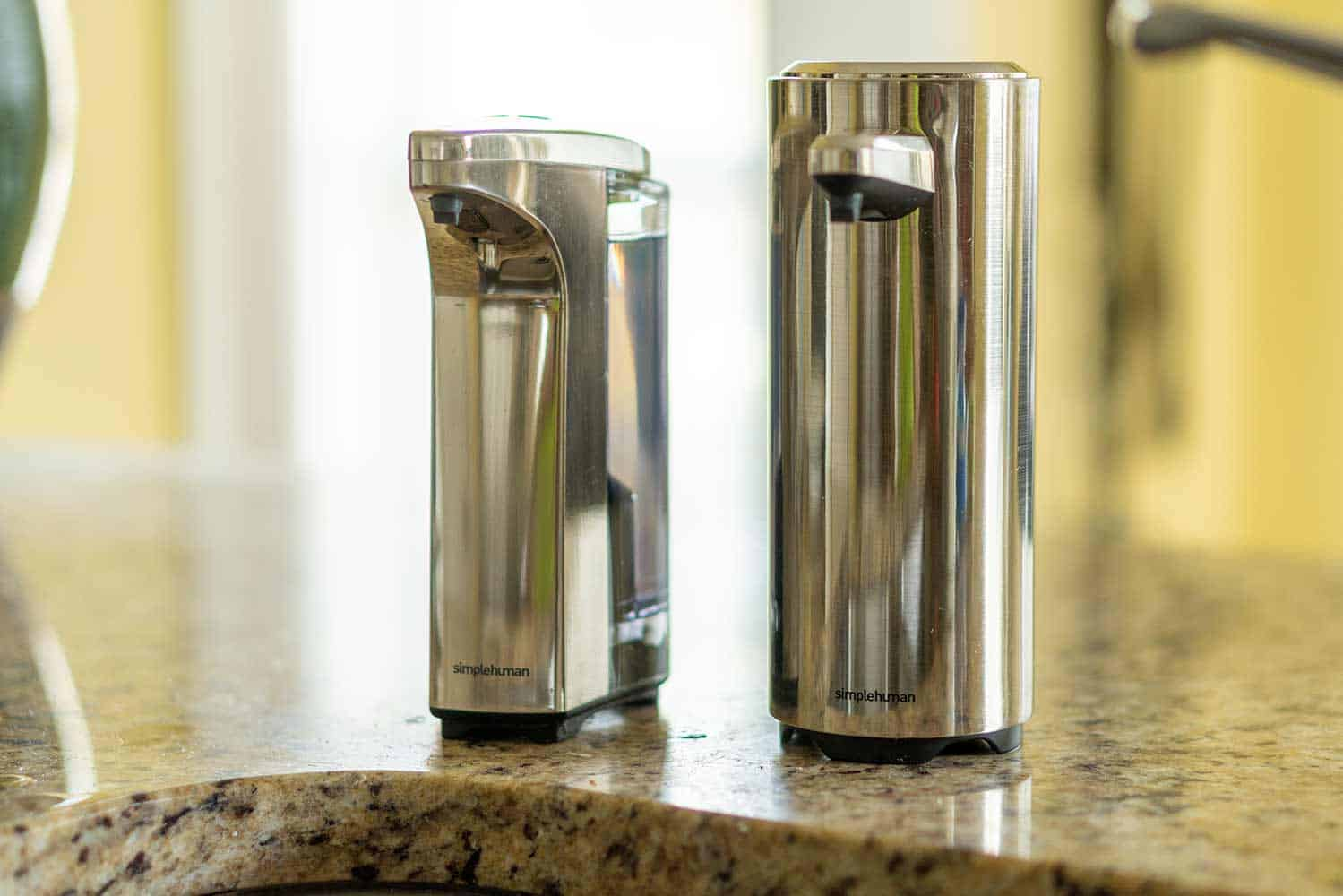 A Tale of Two Automatic Soap Dispensers: simplehuman Sensor Pumps Review